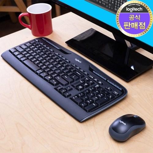 로지텍 코리아 MK330R 무선 키보드 마우스 Set