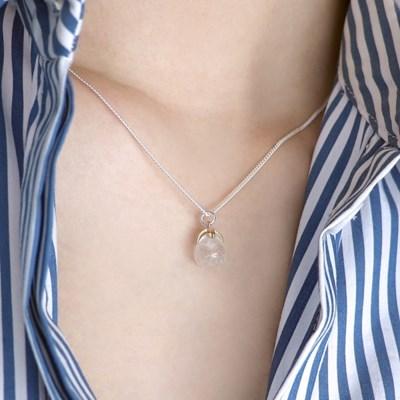 (92.5 silver) crystal necklace