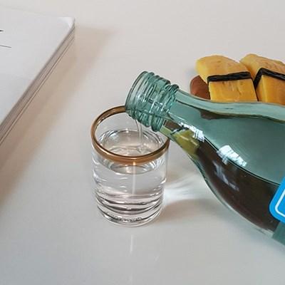 볼드 골드라인 소주잔,사케잔,양주잔