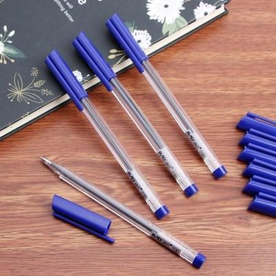 사무용 파랑 볼펜 10p세트