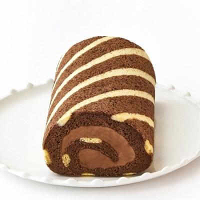 초콜릿 스위스 롤케이크