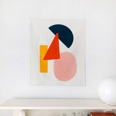 패브릭 포스터 가리개 02. Zigzag