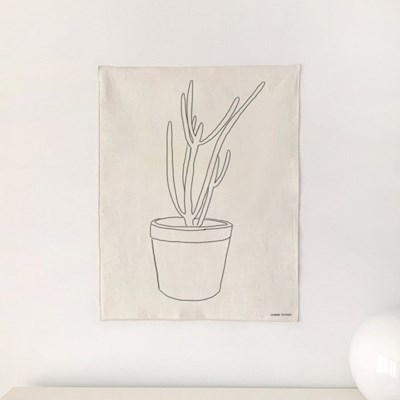 Plant 패브릭 포스터 가리개 커튼 2size
