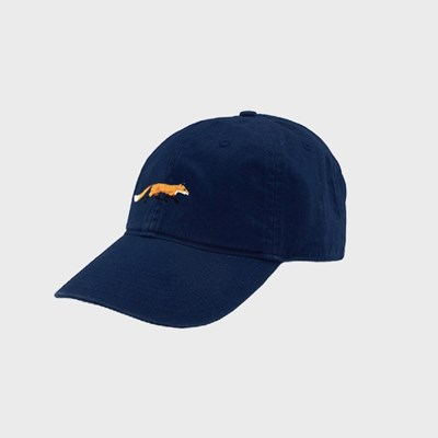 [Smathers&Branson]Adult`s Hats Fox on Navy