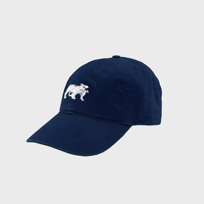 [Smathers&Branson]Adult`s Hats Bulldog on Navy