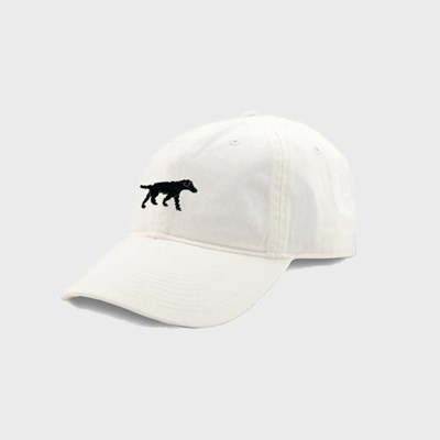 [Smathers&Branson]Adult`s Hats BlackLab on White
