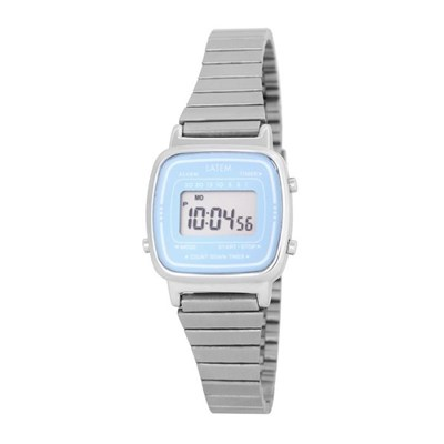 뉴트로 파스텔 디지털 시계_실버블루(AG2G0601DASL)