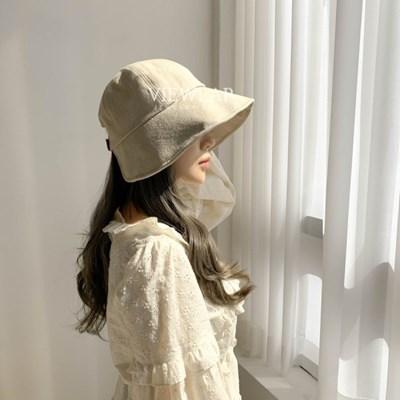 린넨 벨크로 보넷 벙거지 모자 3color