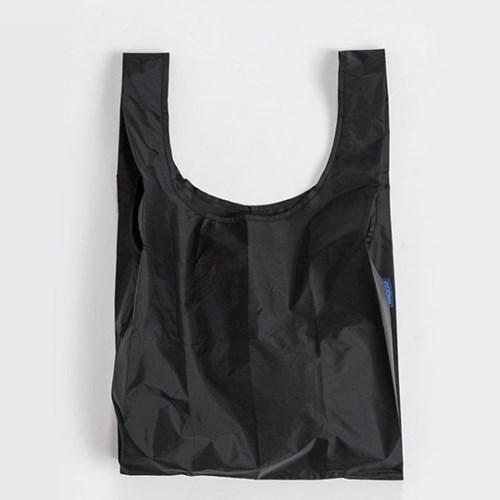 [바쿠백] 휴대용 장바구니 접이식 시장가방 Black_(2983003)