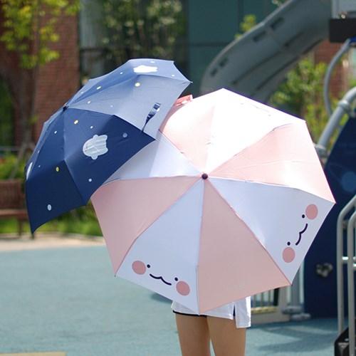 국내 캐릭터 익명이 정품 3단 우산