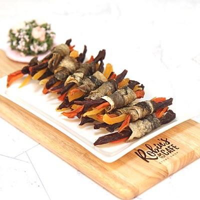북어껍질과 소고기 야채말이 70g