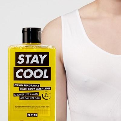 멀티바디워시 STAY COOL + 보정속옷 플렉스팩 나시 화이트 M/L