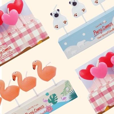 [유어캔들] 파티 데코레이션 캔들 생일초 모음