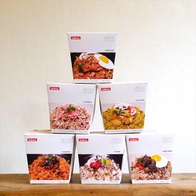 인박스 간편볶음밥 컵밥 6종 6팩