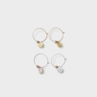 & hoop earring