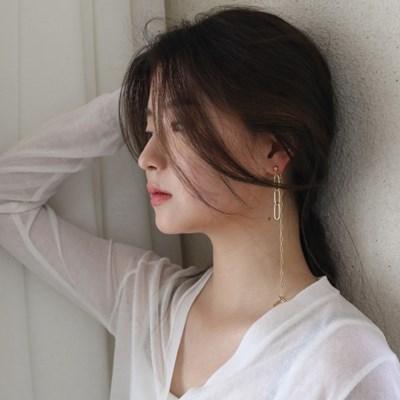 mix chain earring