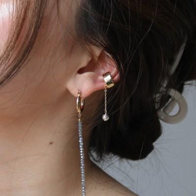 tiny planet earcuff(single)