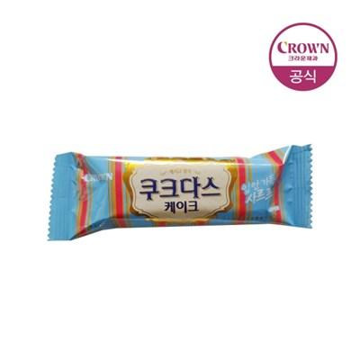 크라운 쿠크다스 케이크 70g 5개_(1787836)