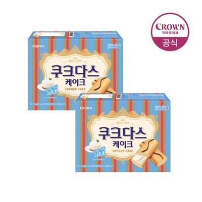 크라운 쿠크다스 케이크 70g 2개_(1787835)