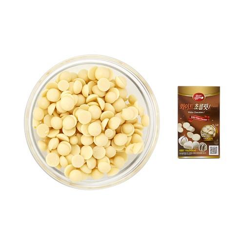 초코빅 프리미엄 화이트 커버처초콜릿 (카카오31%) (no.5120)