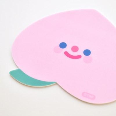 PEACH PEACH mouse pad