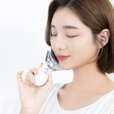 오아 아쿠아 갈바닉 미세진동 온열 쿨링 LED 피부 관리기