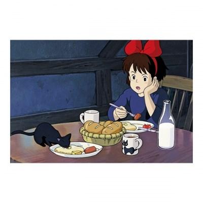 [마녀배달부 키키] 엽서(먹방)-키키의 아침식사