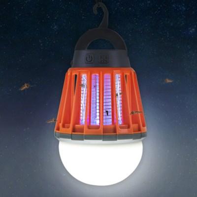 어반 LED 캠핑 랜턴 모기퇴치기 오렌지_(1589903)