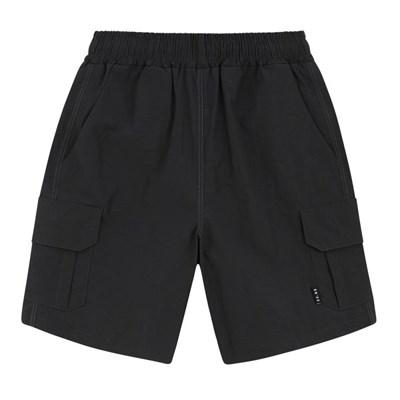 23.65 CARGO SHORT PANTS BLACK