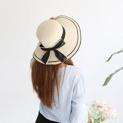 여성 왕골모자 밀짚모자 여름모자 모자[SW-7 마린 리본 왕골햇]
