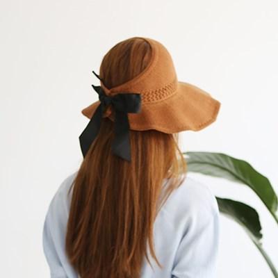 여성 왕골모자 밀짚모자 여름모자 모자[SW-5 밀짚 돌돌이 왕골햇]