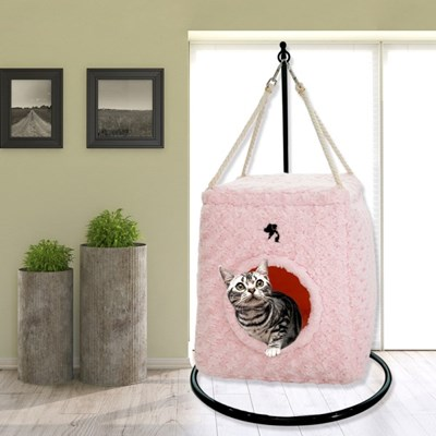 강아지 고양이 타워 하우스 캣타워 숨숨집