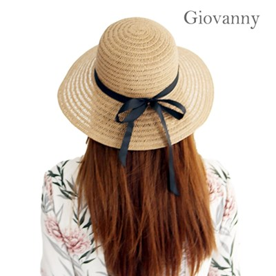 여성 왕골모자 밀짚모자 여름모자 썬캡 아이모자세트 벙거지모자