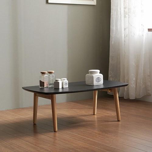 가구데코 마크 HPL 블랙 900 접이식 테이블 NE0173