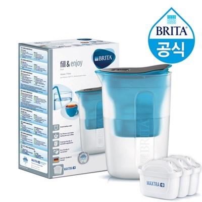 브리타 펀 1.5L 블루 +필터 4개월분 (기본구성 필터포함)