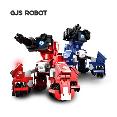 GJS ROBOT GEIO 지오 코딩 배틀로봇 (블루/레드)