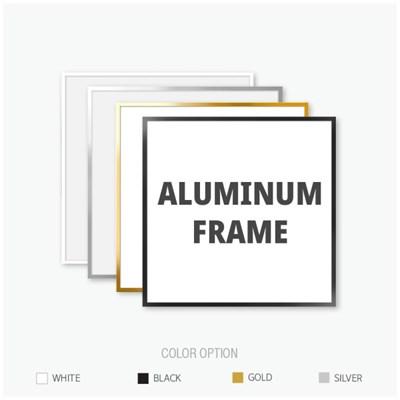 알루미늄 프레임 액자 정사각형 사이즈 모음