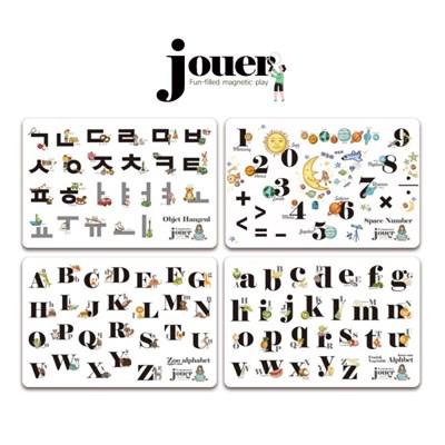 [꼬메모이]쥬에 꼬몽스 4종 택1 / 자석 교구 퍼즐 칠판 유아 놀이