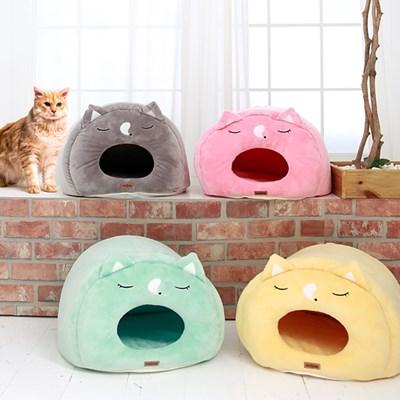 쿨쿨냥 고양이 하우스 고양이집 숨숨집