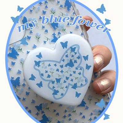 [뮤즈무드] my blue flower tok (스마트톡)