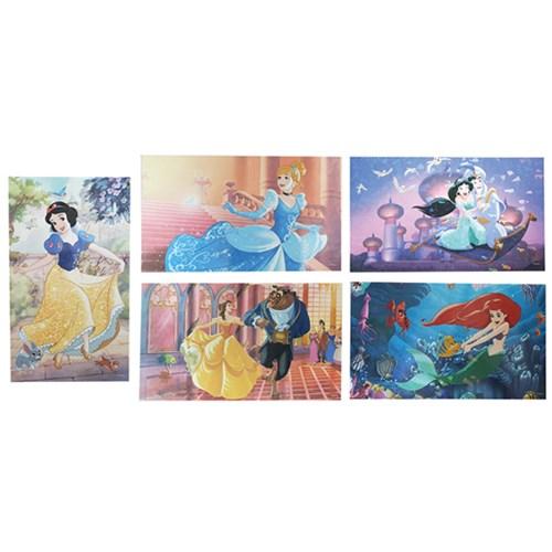 디즈니 프린세스 홀로그램 엽서