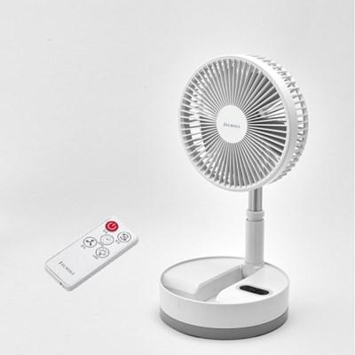 제크롤 BLDC 접이식 무선 선풍기 JK-F1080W (+리모콘 포함)