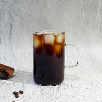 데일리 머그컵 유리 컵 글라스 카페유리잔