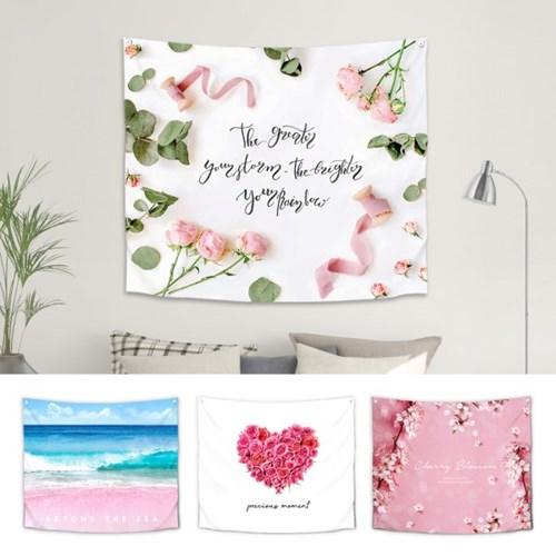 핑크/로맨틱 대형 패브릭포스터 20종