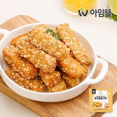 [아임웰] 에어프라이어용 닭가슴살 스틱 200g 1팩