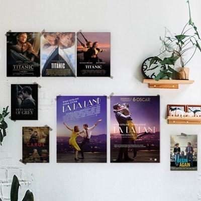 인테리어 인기 영화 아트 포스터 명화 패브릭 20종