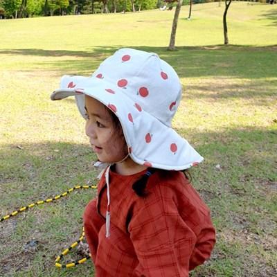 꿈두부 왕챙 벙거지 유아동모자 나들이 버킷햇