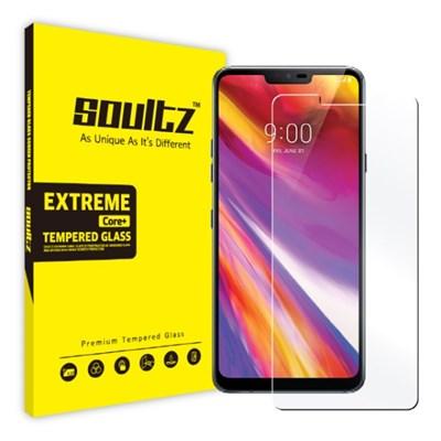 솔츠 LG G7 G7+ Q9 강화유리 방탄 액정보호필름