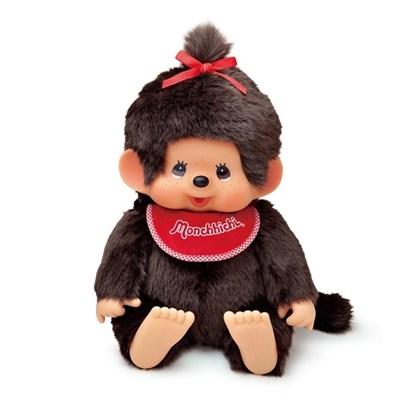 Premium Standard Super Soft Monchhichi Brown Girl L