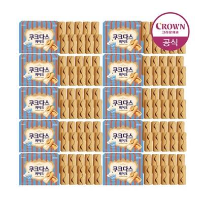 크라운 쿠크다스 케이크 140g 10개_(1796808)